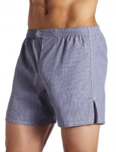 Jake Joseph Henry Trouser Loose Boxer Shorts Underwear Blue/White 1200