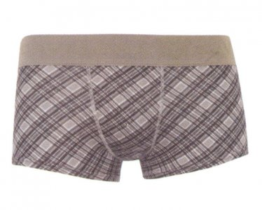 Cavalera Cotton/Elastane Trunk Boxer Brief Underwear Graphite 435-01