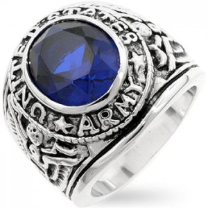 J. Goodin Sapphire Army Ring R02293R-S30