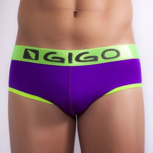 Gigo WAVES PURPLE Brief Underwear