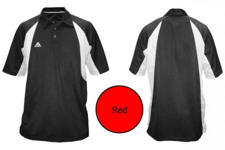 Akadema Sport Polo Short Sleeved Shirt Red SPOLO