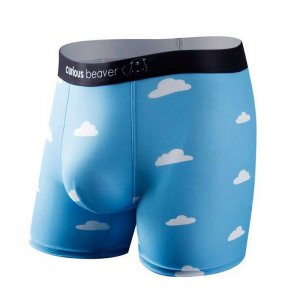 Curious Beaver Day Dreamin Boxer Brief Underwear Clouds