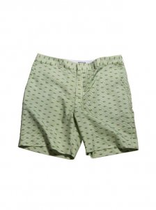 Breese Tanks Stripes Shorts Green TNKGRS100