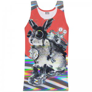 Mr. Gugu & Miss Go Time Traveller Unisex Tank Top T Shirt TT734