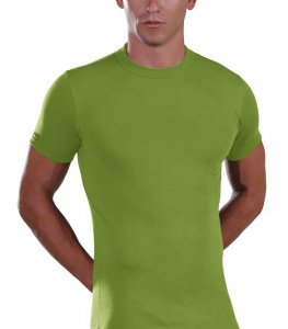 Lord Elastic Short Sleeved T Shirt Lime 1200