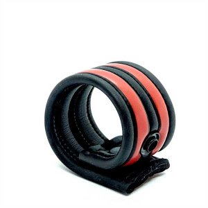 665 Inc. Neoprene Racer Ball Strap Red 19040M