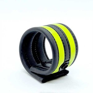 665 Inc. Neoprene Racer Ball Strap Neon Green 19040M