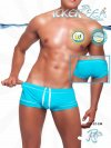 Icker Sea Tory Contrast Line Square Cut Trunk Swimwear COB-12-136