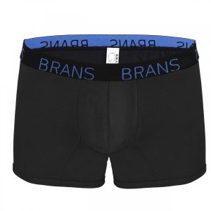 Brans G Series MicroModal Boxer Brief Underwear Black