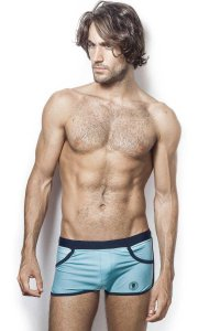 L'Homme Invisible Stamford Shorts Swimwear Sky Blue BA205-02...