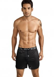 Clever Luxury Lounge See Through Shorts Black 0303