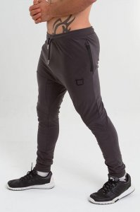 Twotags Alpha Fleece Bottom Pants Charcoal