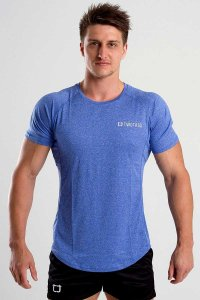 Twotags Cool Sweat V2 Short Sleeved T Shirt Ultra Blue