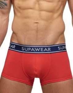 Supawear Supadupa Trunk Boxer Brief Underwear Red