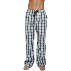 C-IN2 Plaid Lounge Pants Graph Grey 4721