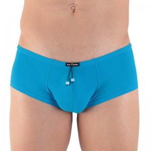 Kale Owen Lagoon Low Waist Trunk Underwear Blue