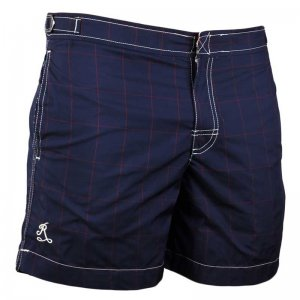 Ramatuelle Jarvis Fitted Shorts Swimwear Navy Blue