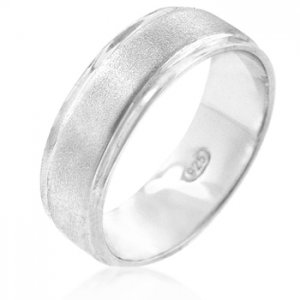 J. Goodin Divinity Eternity Silver Band Ring R00055CRS-V00