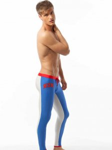 N2N Bodywear USA Runner Pants Royal Blue R30