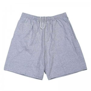 Hanes Cotton Jersey Shorts Light Steel 8790