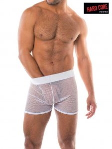 Go Softwear Blanc Mesh Shorts White 4443