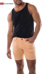 Go Softwear South Beach Princeton 5 Pocket Shorts Sherbert 4...