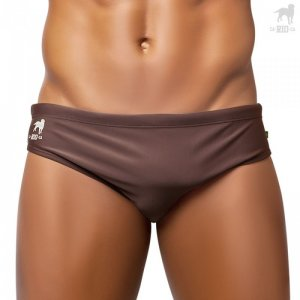 CA-RIO-CA Java Brief Cut Bikini Swimwear Coffee Brown CRC-S400112