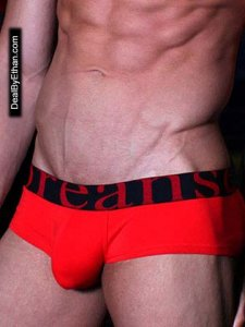 Doreanse Logo Boxer Brief Underwear Red 1779