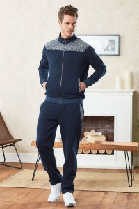 Doreanse Maze Zipper Jacket & Pants Set Sportswear 4348
