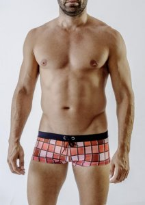 Geronimo Square Cut Trunk Swimwear 1718B2-2