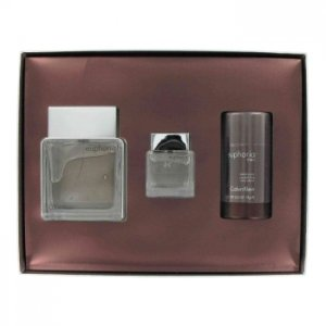 Calvin Klein Euphoria 3.4oz/100.6mL EDT Spray 2.6oz/76.9mL Deodorant 0.5oz/14.8mL Travel size splash Gift Box 444377