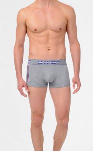 2(x)ist Athletic No Show Boxer Brief Underwear Heather Grey 36133