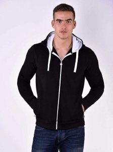Roberto Lucca Hoodie Long Sleeved Sweater Black 80259-00020