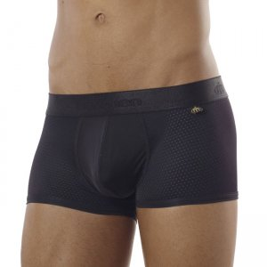 Intymen Sports Block Boxer Brief Underwear Black 6144