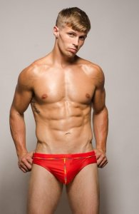 Pride Proud Brief Underwear Red PRS-008