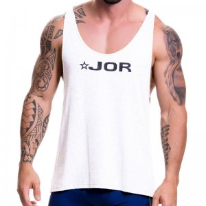 Jor GAME Tank Top T Shirt White 0517