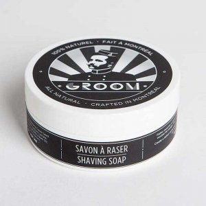 Groom Industries Shaving Soap 5 oz / 140 gr Grooming GR005