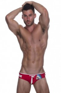 Marcuse Brave Bikini Swimwear Red