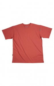 Litex Plain Short Sleeved T Shirt 306 Red 67793