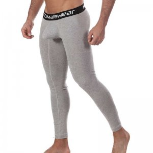 MIIW Perfect Scene Cotton Long Johns Long Underwear Pants Grey 3052-10