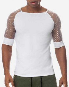 Adonis by Kyhry Desire Short Sleeved T Shirt White