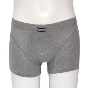 Minerva Sporties Basic Boxer Brief Underwear Dark Grey Melange 20260