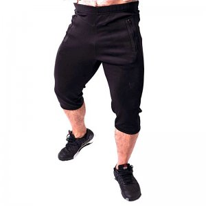 Bullywear Activewear 3/4 Pants Black ACT2