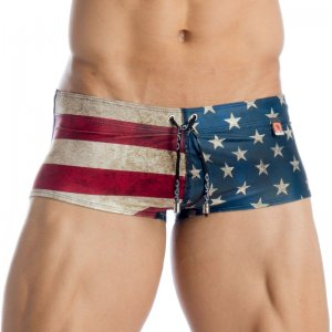Gigo USA Boxer ENC Swimwear S01003-USA