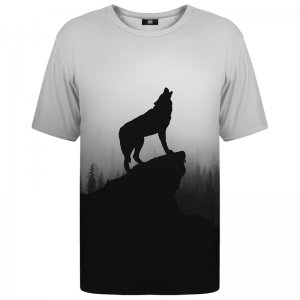 Mr. Gugu & Miss Go Shadow Of Wolf Unisex Short Sleeved T Shirt TSH1191