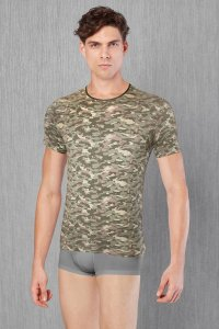 Doreanse Camouflage Short Sleeved T Shirt 2560