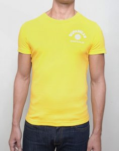 Supawear Sports Club Short Sleeved T Shirt Yellow T10SCYE