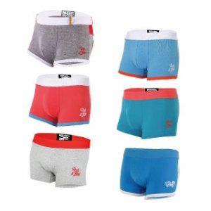Rock N Fresh [6 Pack] Package A Boxer Brief Underwear