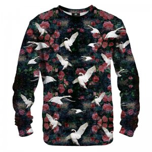 Mr. Gugu & Miss Go Swans Unisex Sweater S-PC092
