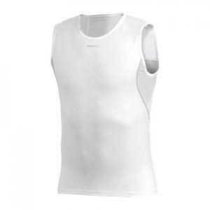 Craft Stay Cool Muscle Top T Shirt White 193681